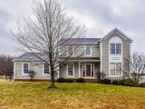 Fantastic living space in this 4 bedroom, 2 full 2 half bath colonial on a large corner lot!